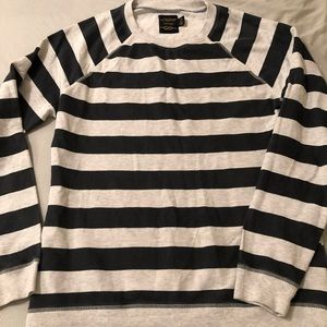 Urban Outfitters crewneck striped sweatshirt
